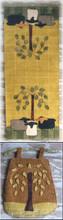 Crane Designs Jan Mott Sheep Oasis table runner twig bag CDso