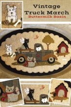 Vintage Truck Thru the Year - March pattern by Buttermilk Basin kit by Auntie Ju's Quilt Shoppe