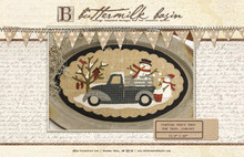 Vintage Truck Thru the Year - January pattern by Buttermilk Basin Stacy West - kit by Auntie Ju's Quilt Shoppe