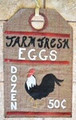 Linen Closet Designs - Farm Fresh Eggs - Vintage Tag Series