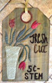 Linen Closet Designs - Fresh Cut - Vintage Tag Series