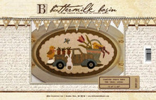 Vintage Truck Thru the Year - April pattern by Buttermilk Basin -Stacy West kit by Auntie Ju's Quilt Shoppe
