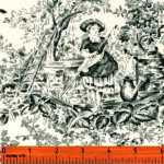 Robyn Pandolph Black and White Toile 0087