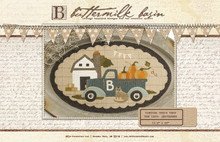 Vintage Truck Thru the Year -September pattern by Buttermilk Basin - pattern kit by Auntie Ju's Quilt Shoppe