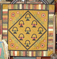 Baskets & Blooms small wall quilt pattern design by Liberty Homestead LB05