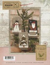 Christmas Ball Jar Ornaments pattern design by Buttermilk Basin