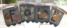 Heart to Hand pattern 347 wall hanging/banner kit
