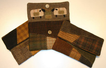 Crazy Clutch designed by Cricket Street Wool