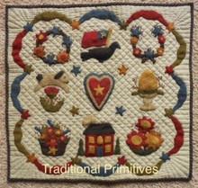 Wool Appliqué Quilt pattern by Missie Carpenter