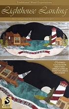 Lighthouse Landing pattern by Crane Design Jan Mott kit by  Auntie Ju's Quilt Shoppe