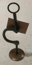 """7"""" Clamp with bronze finish"""