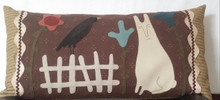 Seasonal Primitive Pillow kit for Spring designed by Briar Root Primitives, Robin Vizzone