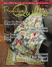 Primitive Quilts & Projects Summer 2017 Issue