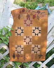 Wednesday's Work pattern designer Quilts by Cheri wool appliqué kit wall quilt table runner