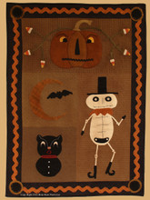 Prim-O-Ween pattern designed by Briar Roots Primivites - Robin  Vizzone
