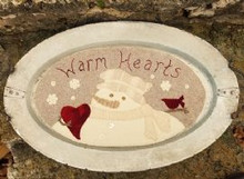 Warm Hearts pattern designed by Sew Cherished - Dawn Shuck