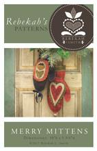Merry Mittens - door decoration - Rebekah L. Smith Designs