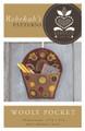 Wooly Pocket - door decoration - Rebekah L. Smith Designs