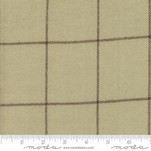 Cotton Works by Minick and Simpson - windowpane tan - 12813-14