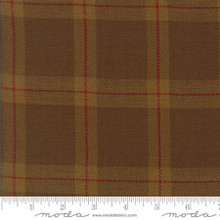 Cotton Works by Minick and Simpson - plaid brown - 12813-19