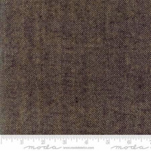 Cotton Works by Minick and Simpson - herringbone black- 12813-40