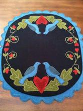Bluebird Heart Song designer Karen Lord Camp Wool