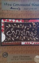 Christmas designer 1894 Cottonwood House