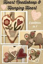 Buttermilk Basin Heart Needlekeep & Hanging Heart #1435