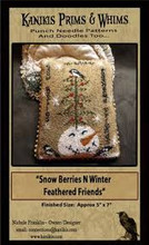 Snow Berries N Winter Feathered Friends designer Nicole Franklin Kanikis Prims & Whims