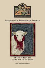 For Ewe punchneedle pattern designer Teresa Kogut