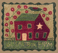 Ol' Saltbox Farm punchneedle pattern designer Teresa Kogut