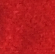 Hand-dyed felted wool Bright Red