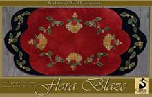 Floral Blaze designer Crane Designs table topper