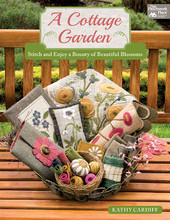 quilt book A Cottage Garden author Kathy Cardiff