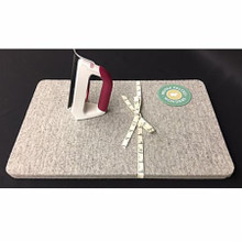 """Wooly Felted Iron Mat 8.5""""sq."""