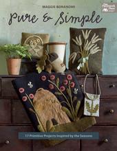 Pure, Simple, author, Maggie, Bonanomi, quilt, book