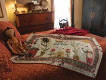 Honey, HIll, Farm, wall, quilt, designer, Dawn Heese