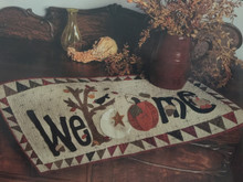 Fall, Welcome, Table, Runner, kit, pattern, Fall, Issue, 2018, Primitive, Quilts, Projects