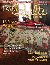 Primitive, Quilts, Projects, Fall, 2018, Issue