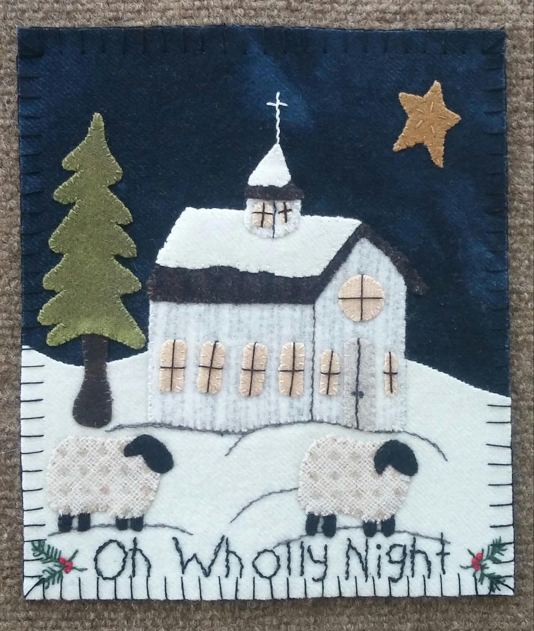 Simply Sheep December Auntie Jus Quilt Shoppe
