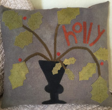Holly,Days,wall,hanging,pillow,designer,Maggie,Bonanomi,kit,Auntie,Jus,Quilt,Shoppe