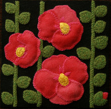 Hollyhocks,designer,Horse,Buggy,Country,Auntie,Jus,Quilt,Shoppe