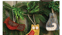 Wooly,creatures,ornaments,pattern,Rebekah,Smith,designer