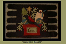 Christmas,Basket,designer,Piece,Work,kit,Auntie,Jus,Quilt,Shoppe