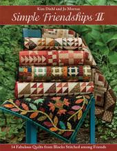 Simple,FriendshipII,Kim,Diehl,Jo,Morton,quilt,book