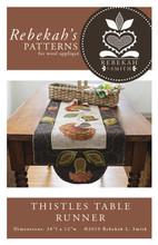 Thistles,table,runner,Rebekah,Smith,Designs
