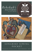 Songbird,Sewing,Pocket,Rebekah,Smith,Designs,Auntie,Jus,Quilt,Shoppe