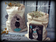 Spring,Bunny,Sacks,Vermont,Harvest,Folk,Art