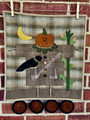 Clothesline,Scarecrow,pattern,Heart,Hand,kit,Auntie,Jus,Quilt,Shoppe,wallhanging,wool