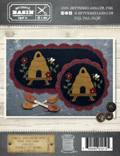 Simply,scalloped,mats,thru,year,august,pattern,Buttermilk,Basin,kit,Auntie,Jus,Quilt,Shoppe